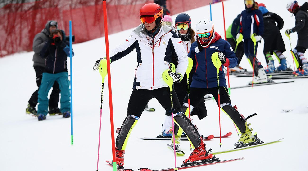 American Mikaela Shiffrin charges to gold in giant slalom