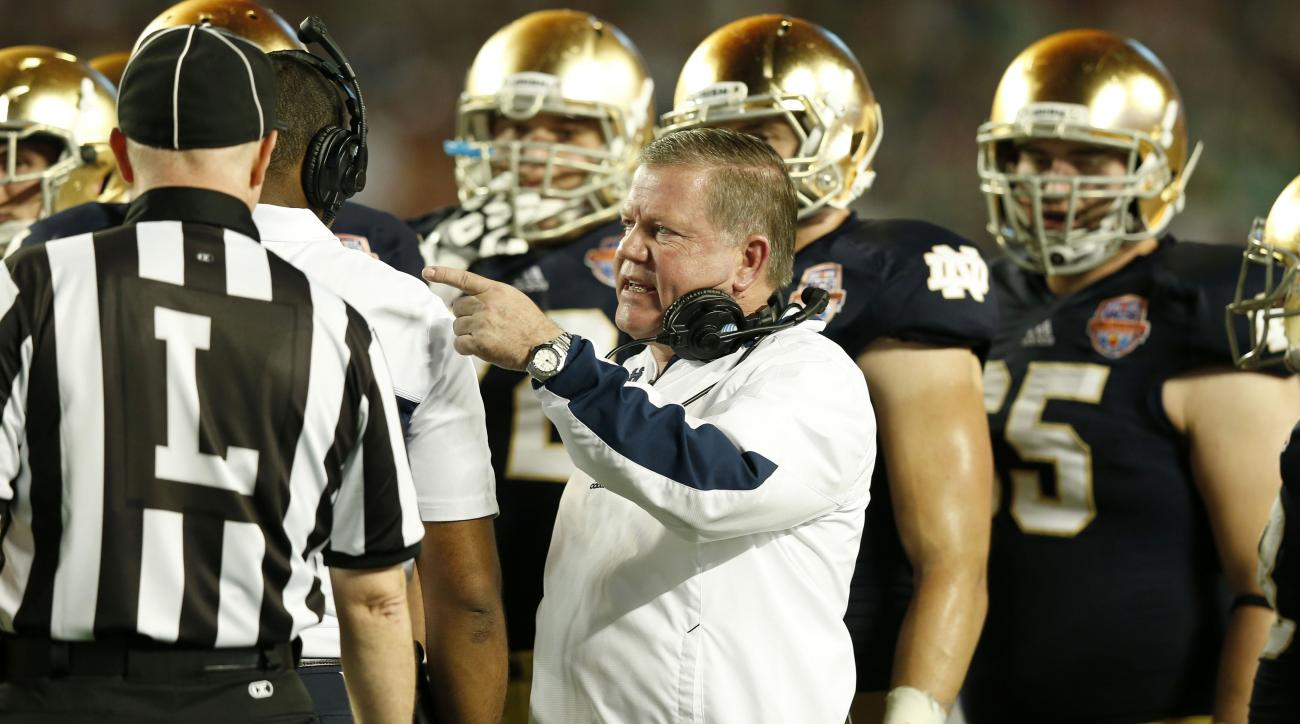 NCAA upholds ruling that Notre Dame will vacate wins