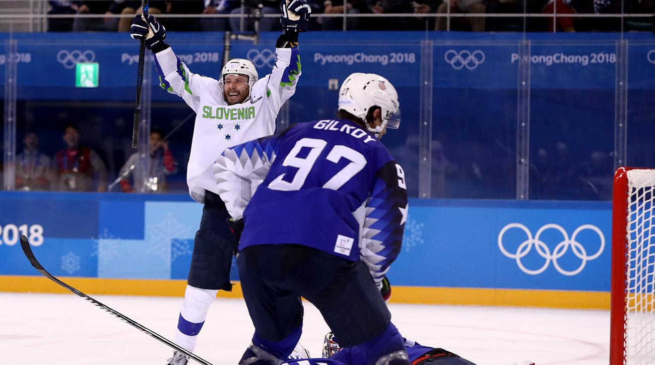 Slovenia comes back to stun US in OT in Olympic opener