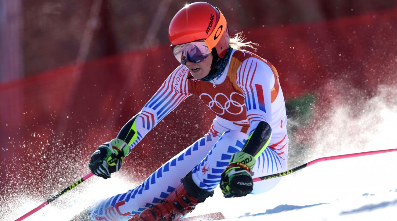 United States skier Mikaela Shiffrin grabs gold in first event