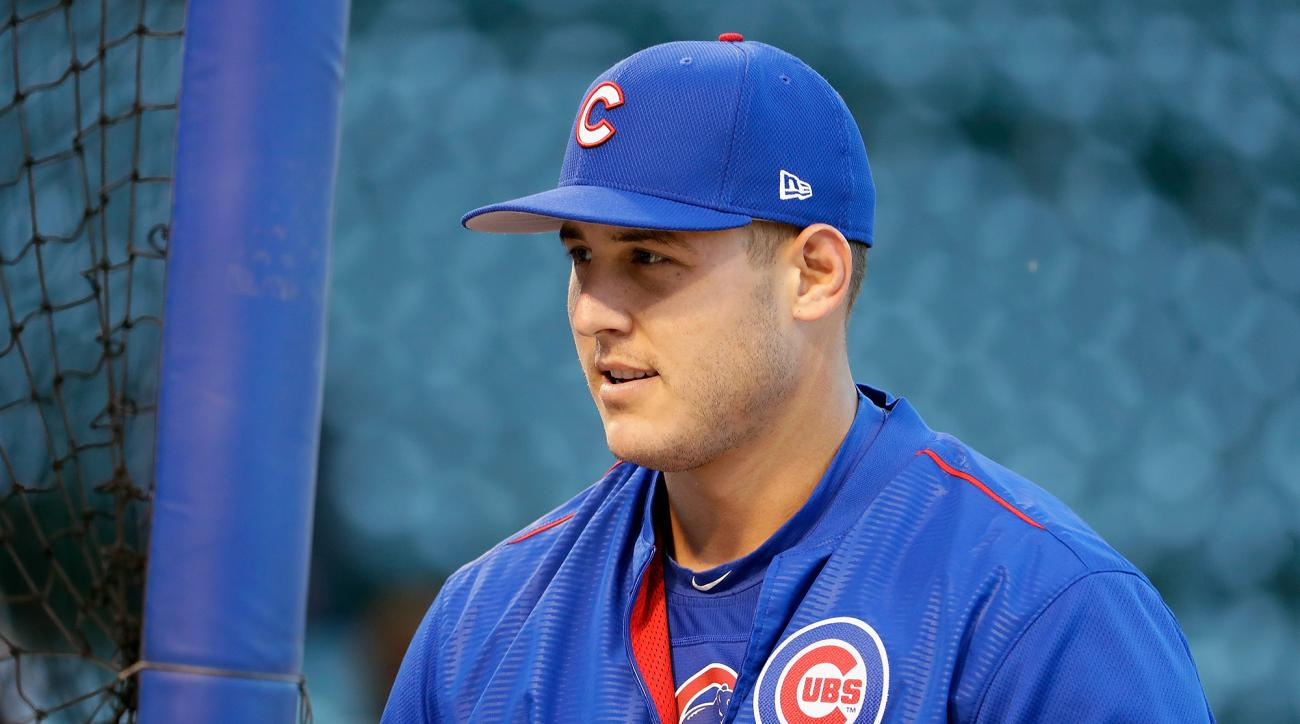 Anthony Rizzo left Cubs camp to fly home to Parkland, Florida after his high school was the site of a mass shooting.