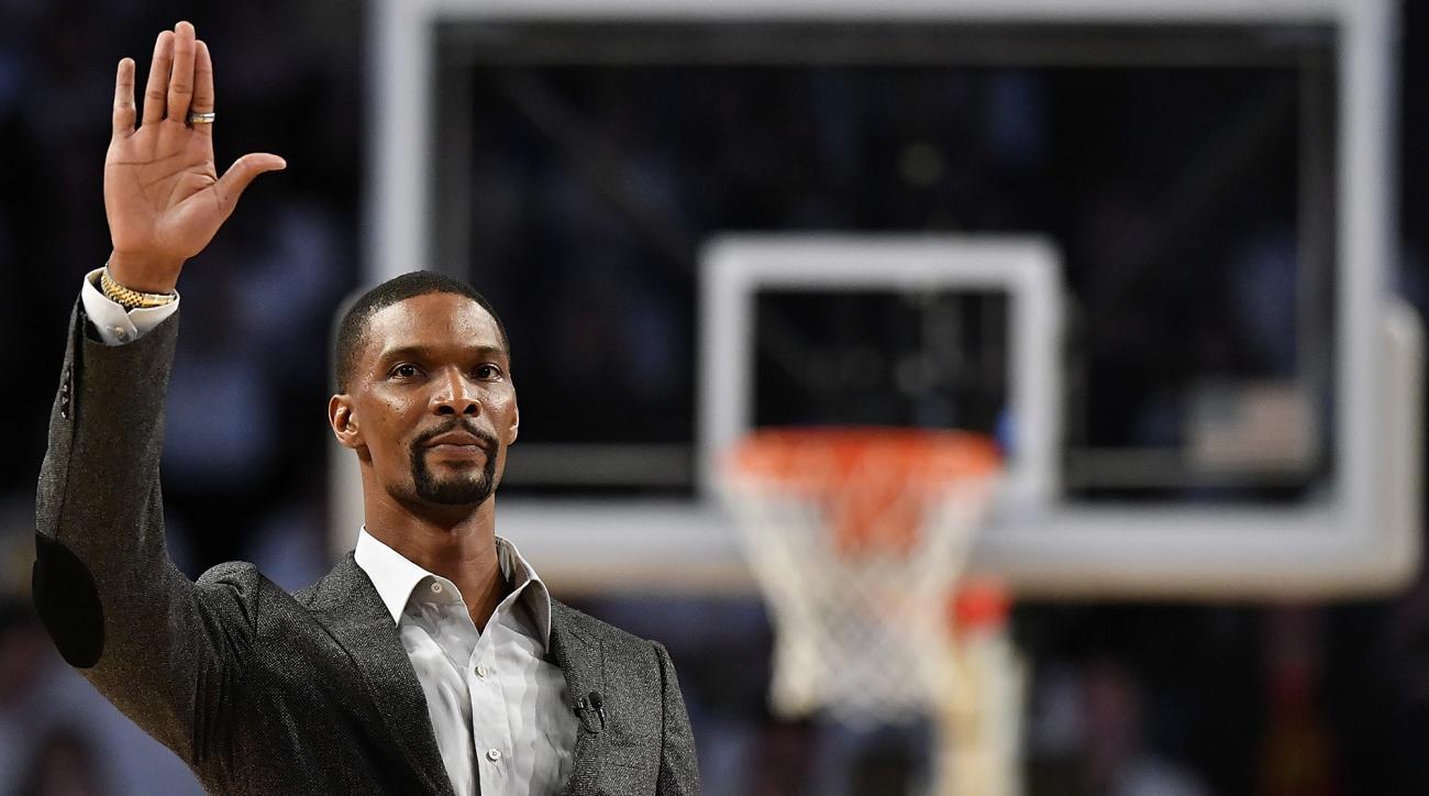 Chris Bosh Not Ruling Out Return to NBA This Season