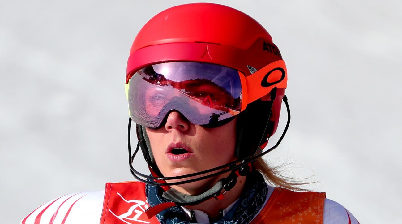 Shiffrin wins Olympic giant slalom gold