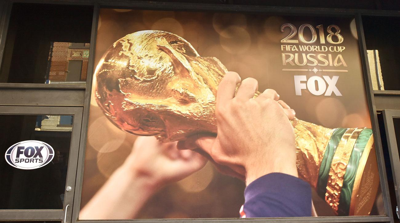 Fox Sports has the 2018 World Cup