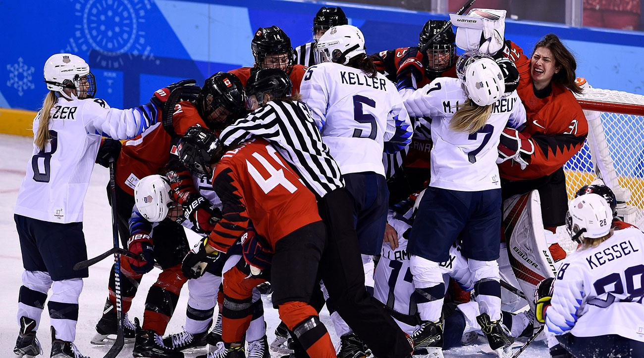 usa vs canada hockey olympics 2018