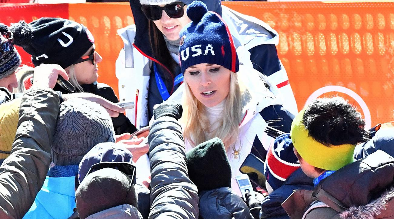 Lindsey Vonn responds to critics after 6th-place finish