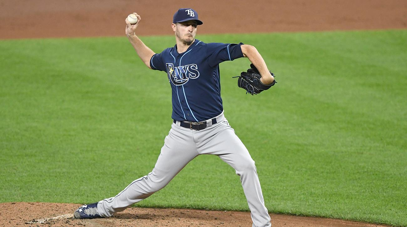 Rays trade RHP Odorizzi to Twins for Palacios
