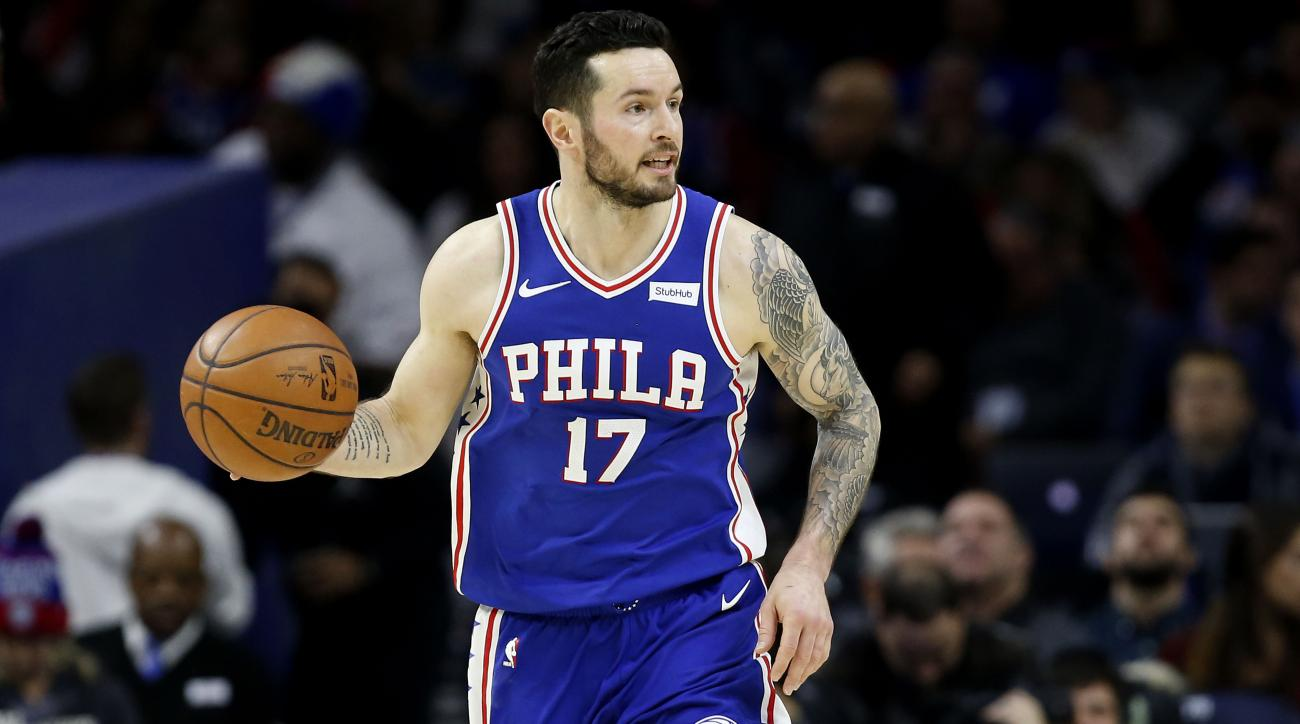 Did 76ers' Redick use racial slur? He says he was 'tongue tied'