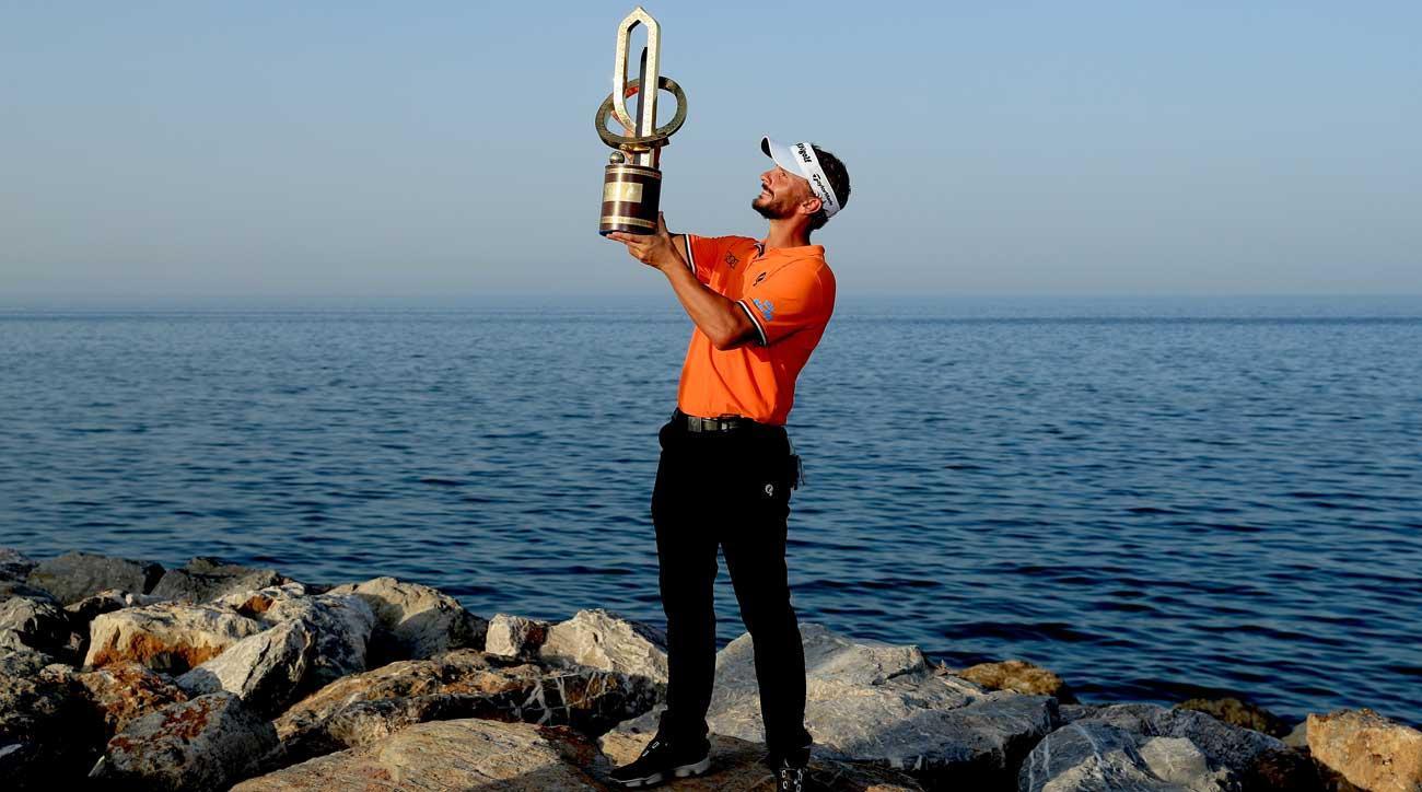 Joost Luiten fends off Chris Wood for NBO Oman Open victory