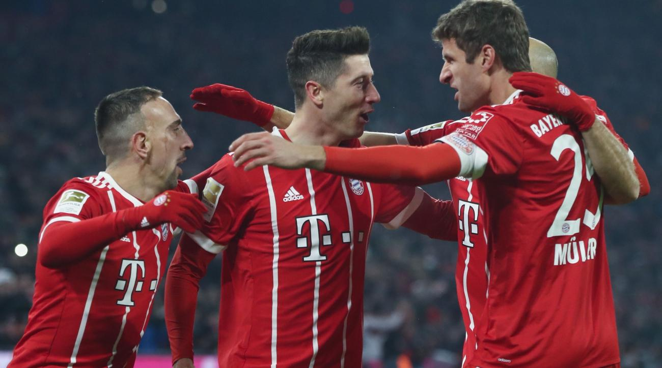 Five things we learned from Bayern Munich 5-0 Besiktas