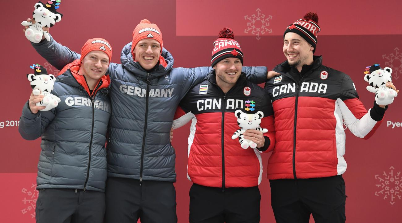 Image result for 2 man's bobsled winners pyeongchang