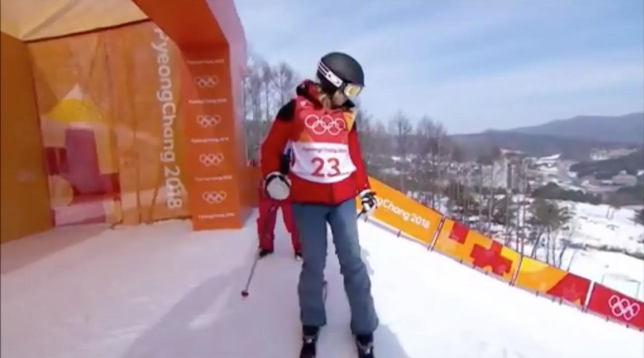 Winter Olympics Skier Completes The Most Mindblowingly Average Performance Of All Time