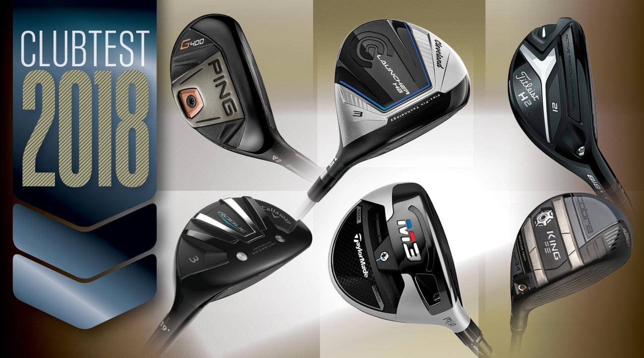 Scroll down for our full reviews of 33 new hybrids and fairway woods.