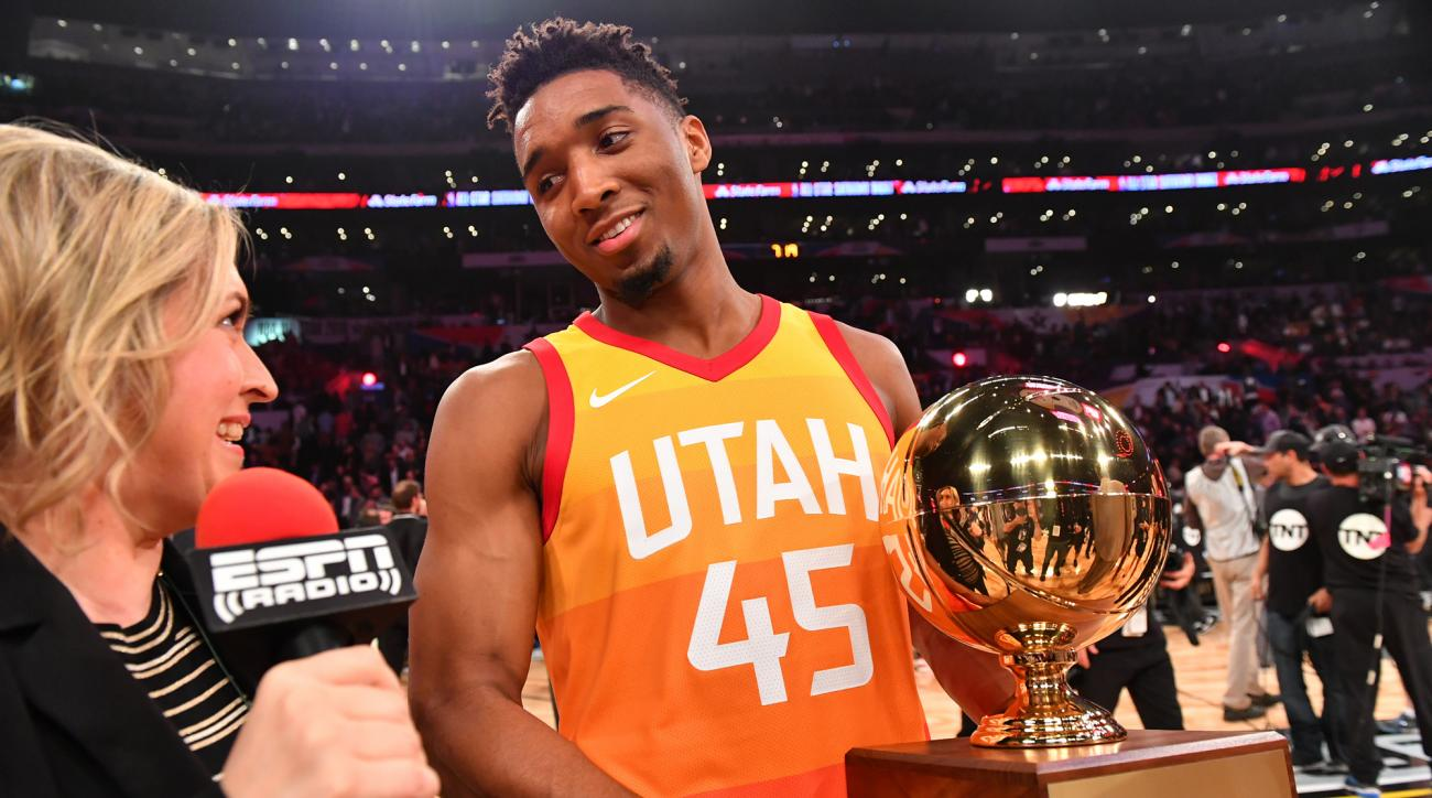 Donovan Mitchell was at LeBron James   Decision  ceremony  3080734b6
