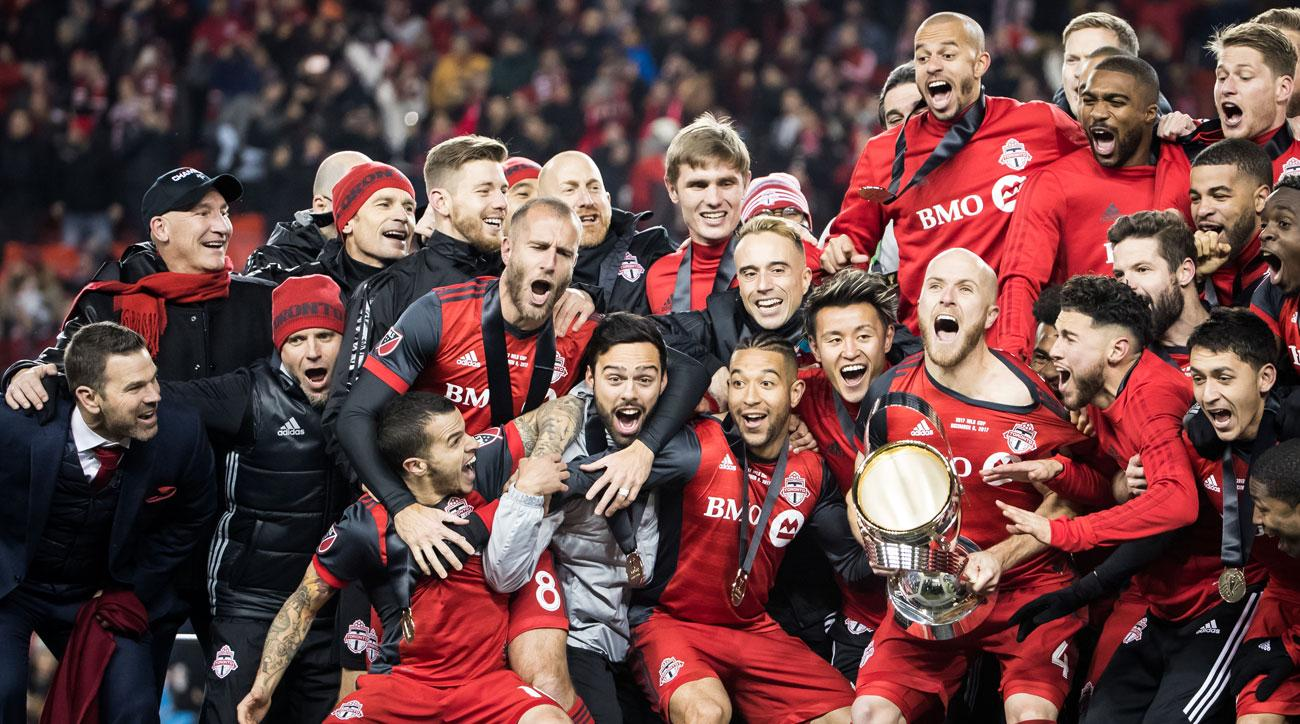 Toronto FC is one of five MLS teams gunning to win CONCACAF Champions League