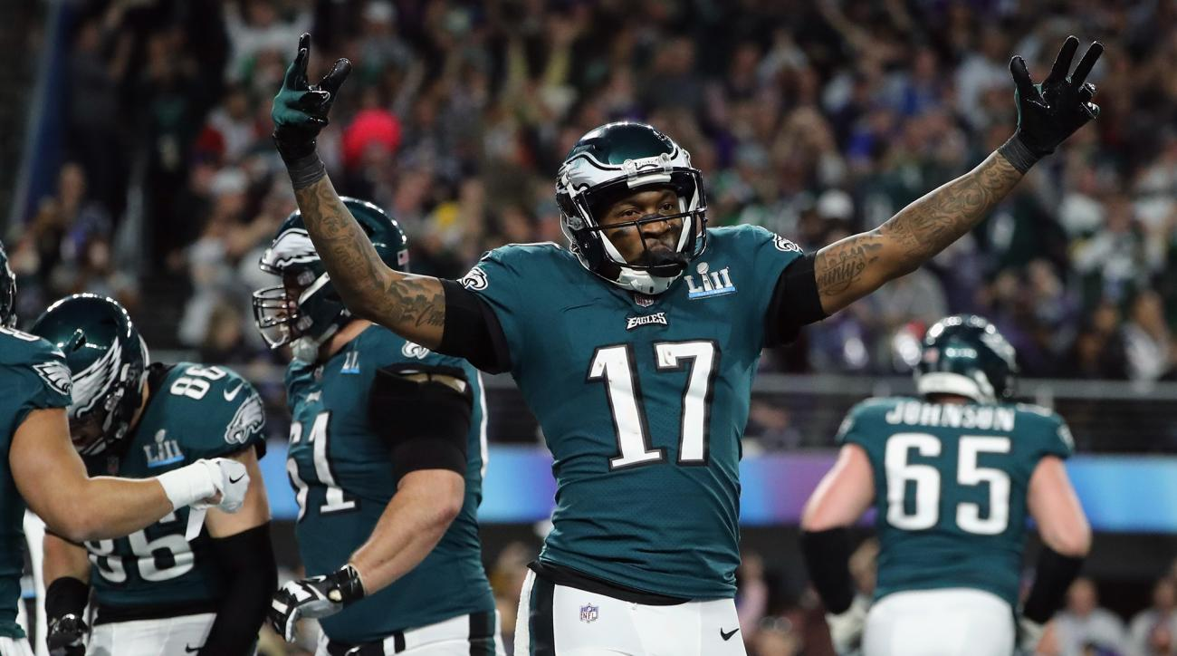 Alshon Jeffery had surgery to repair a torn rotator cuff he suffered in training camp.