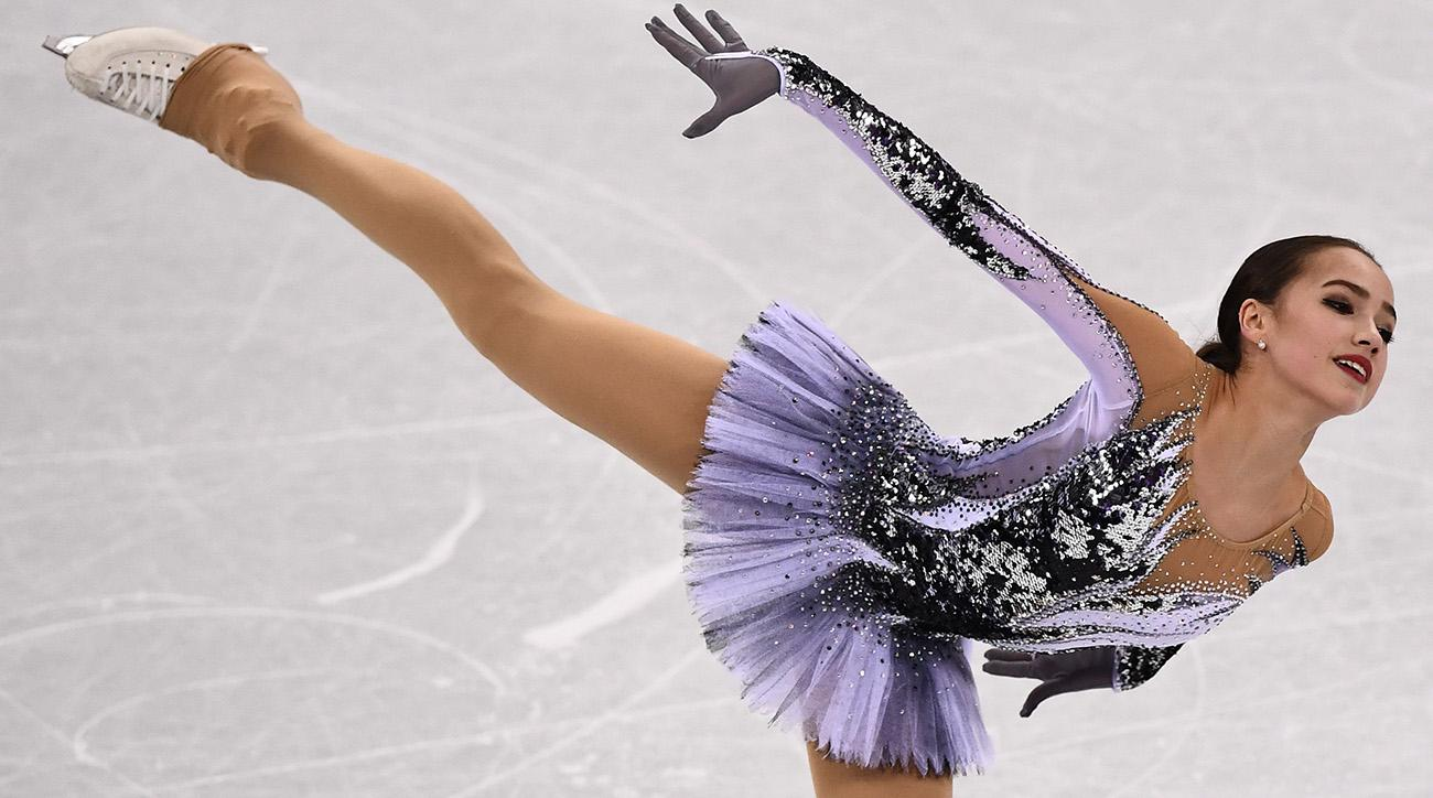 Image result for olympics 2018 figure skating alina