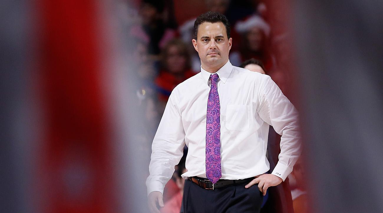 Arizona's Sean Miller doesn't coach vs. Oregon; Deandre Ayton starts