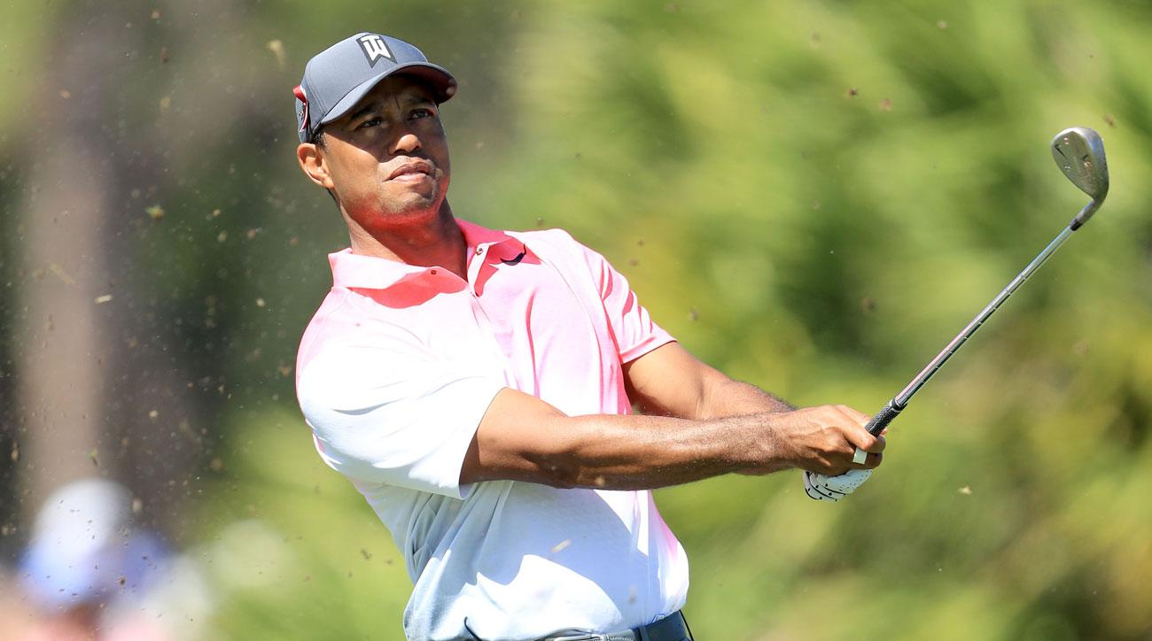 Follow Tiger Woods's second round at the Honda Classic below.