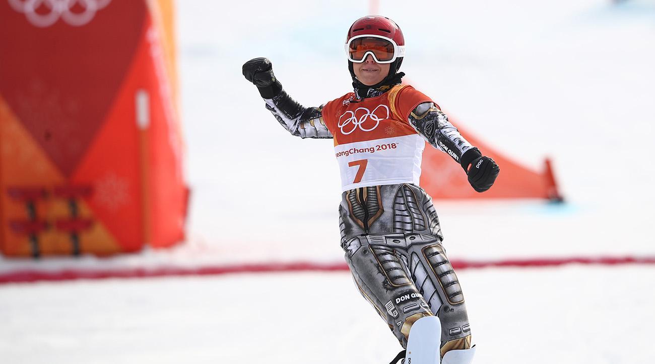 Ledecká wins second gold at Olympics