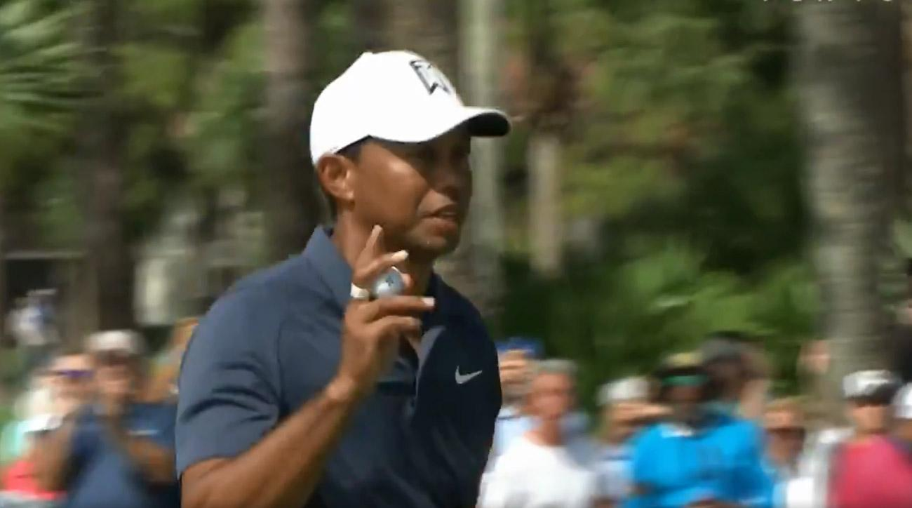 Tiger Woods got off to a strong start in the third round of the Honda Classic.