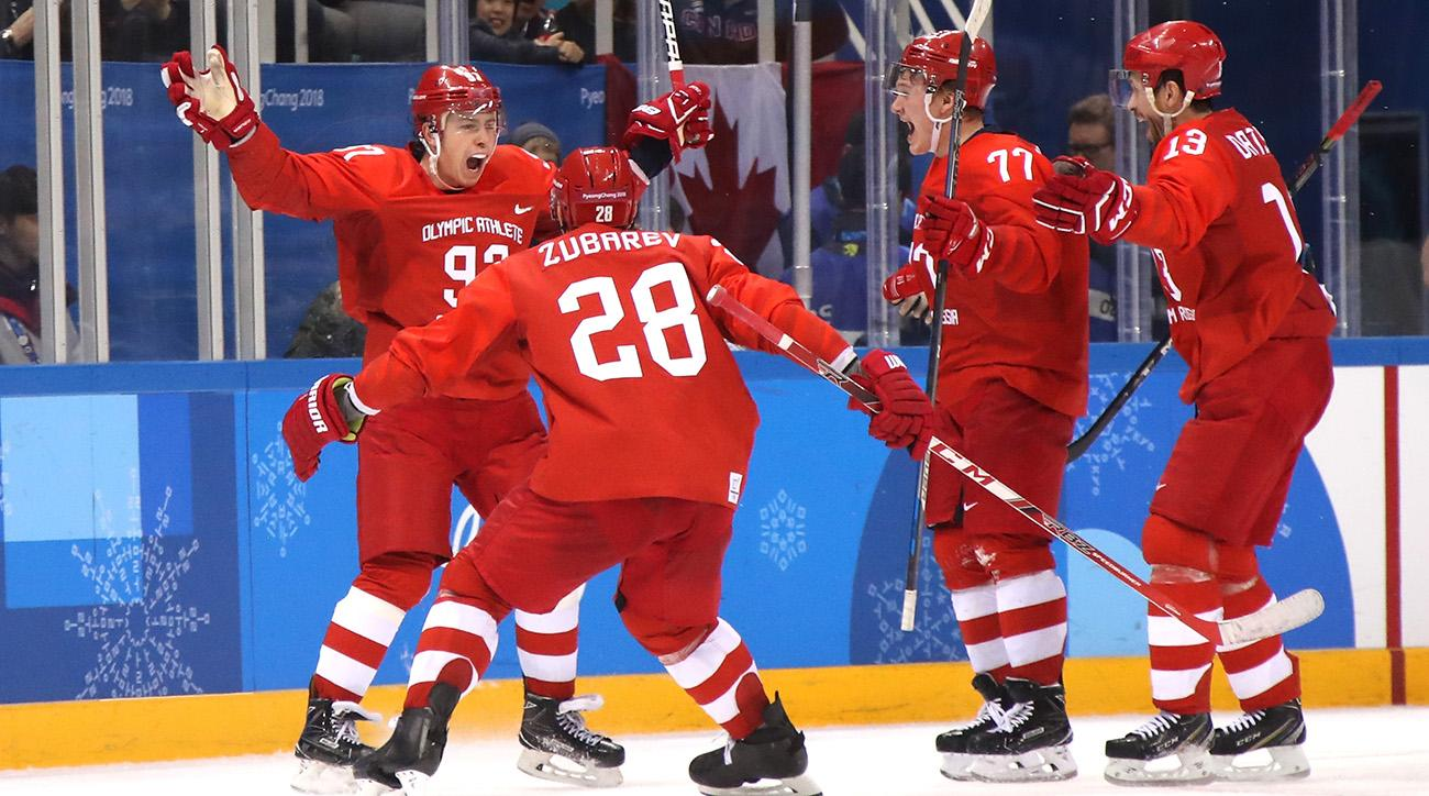 'Olympic Athletes From Russia' Beat Germany For Men's Hockey Gold
