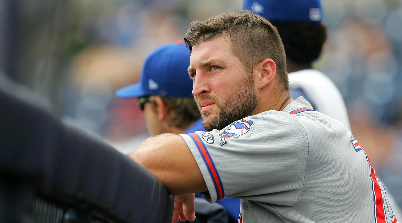 Tim Tebow Suffered A Freak Injury At Spring Training