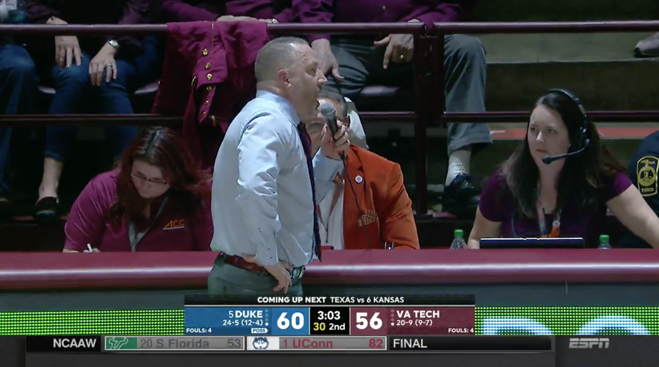 Virginia Tech Upsets Duke On Last-Second Putback