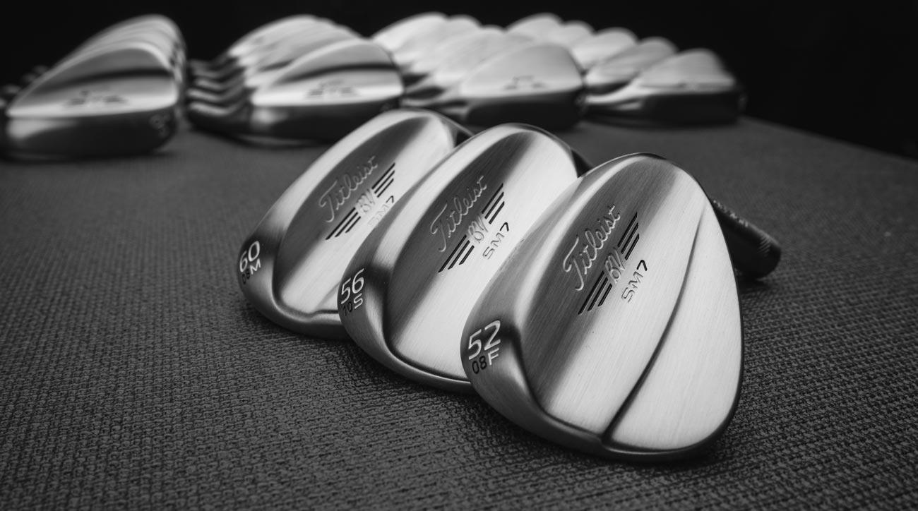 The new Titleist Vokey SM7 Raw wedges.