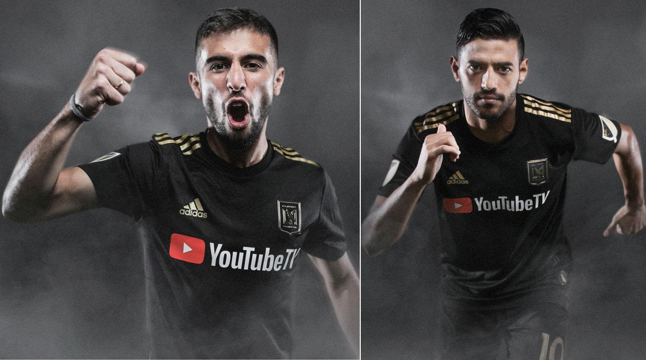 promo code 4b81b 39ac5 LAFC: Carlos Vela, Diego Rossi develop bond for expansion ...