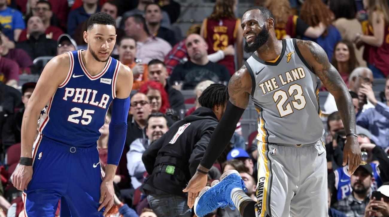 0ce850a71 Would LeBron James and Ben Simmons Actually Be a Good Fit in Philly
