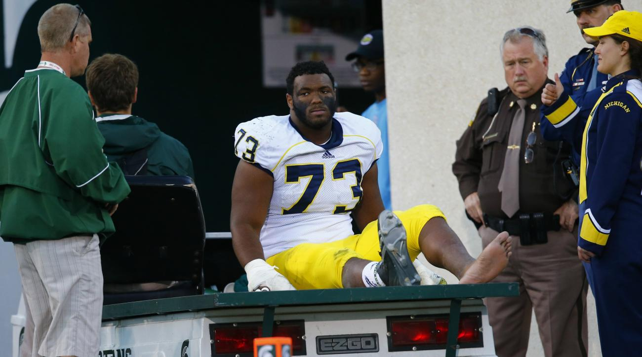 Maurice Hurst Jr. has been diagnosed with a heart condition.