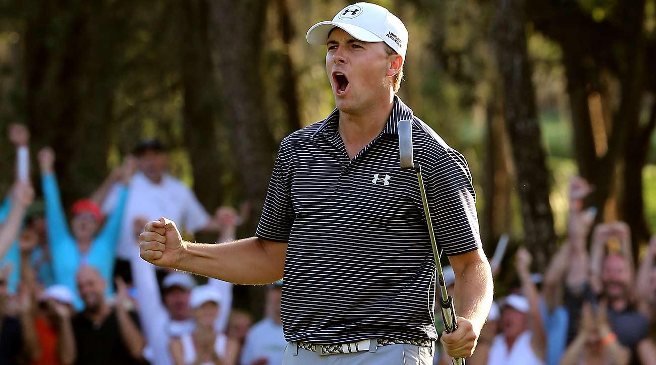 Jordan Spieth provided fireworks in the Snake Pit while rallying to win the Valspar in sudden death in 2015.