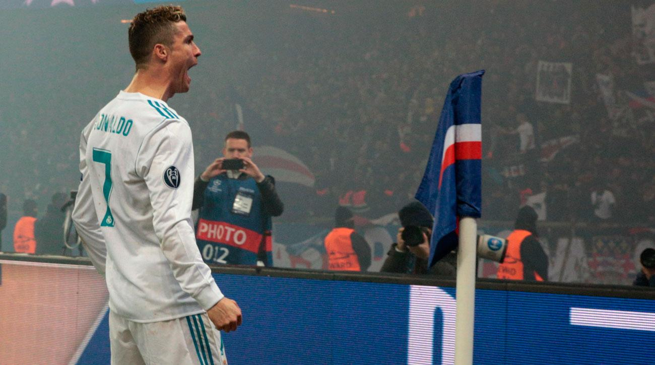 Cristiano Ronaldo and Real Madrid are moving on in the Champions League