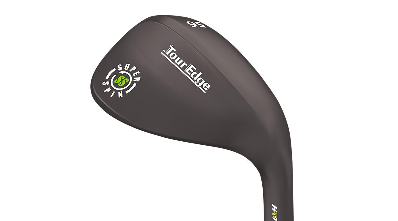 The new Tour Edge Hot Launch SuperSpin wedge.