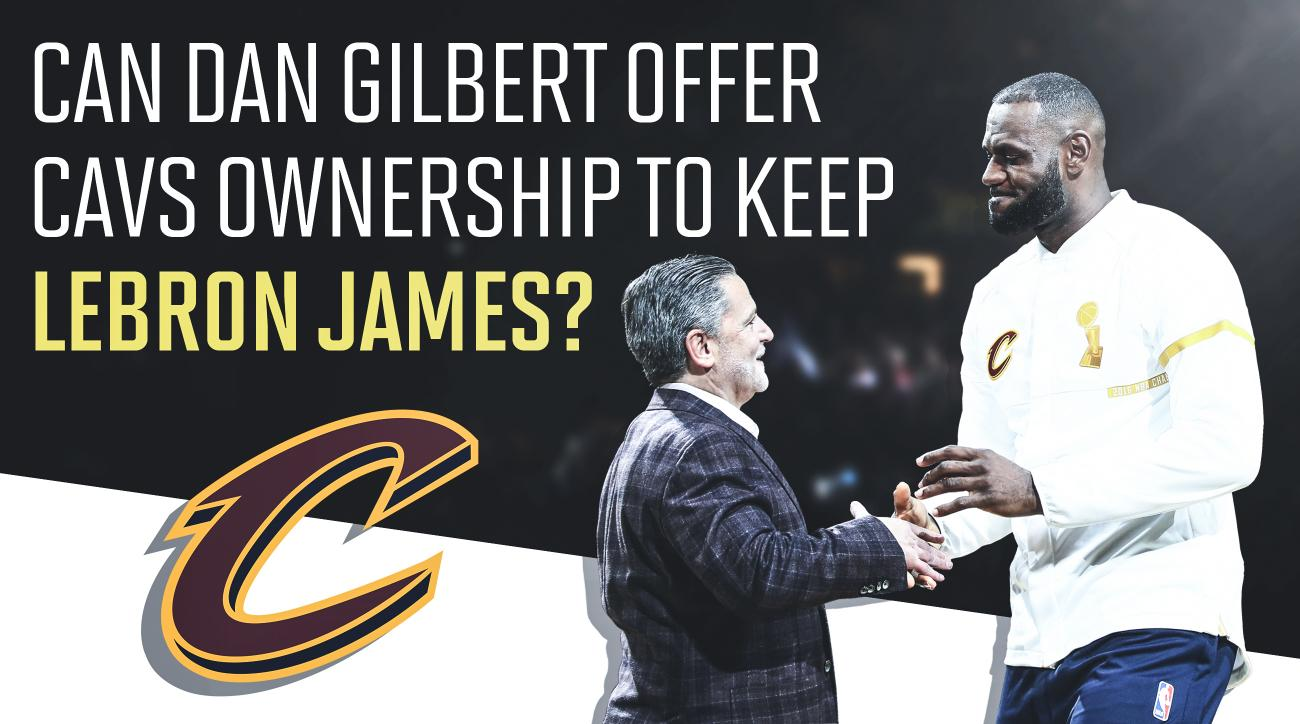 Dan Gilbert and LeBrno James