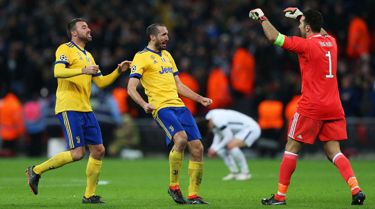 Juventus battles back to oust Tottenham from the Champions League