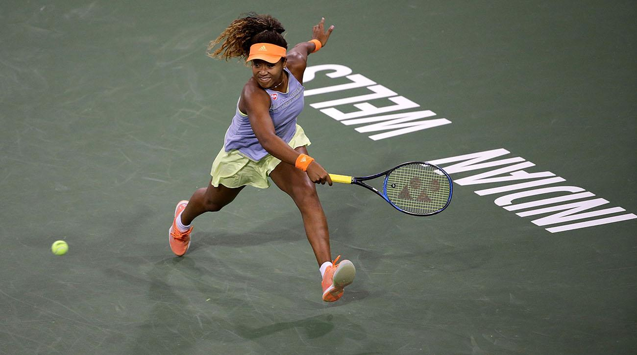 Osaka stuns Sharapova in straight sets at BNP Paribas Open