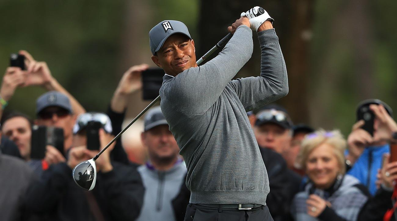 Follow Tiger Woods's entire second round at the Valspar Championship below.