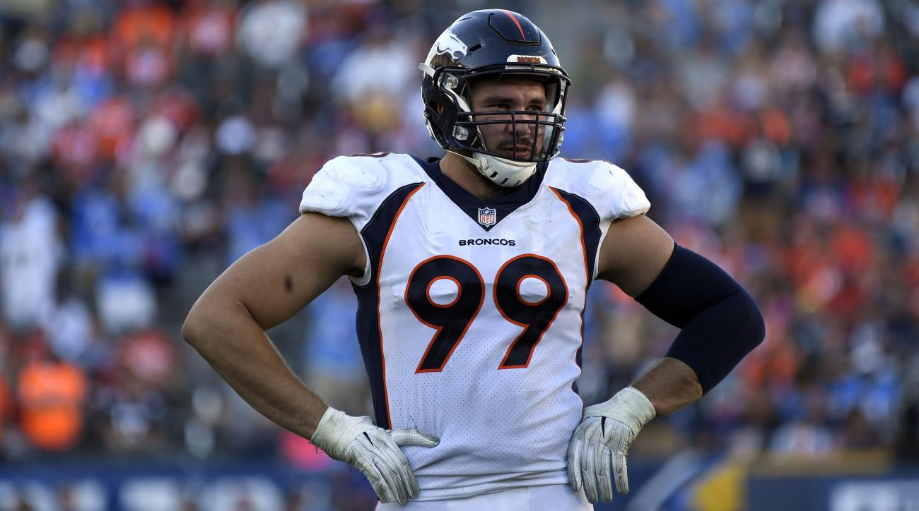 Broncos DT Adam Gotsis arrested on 2013 rape charge, report says