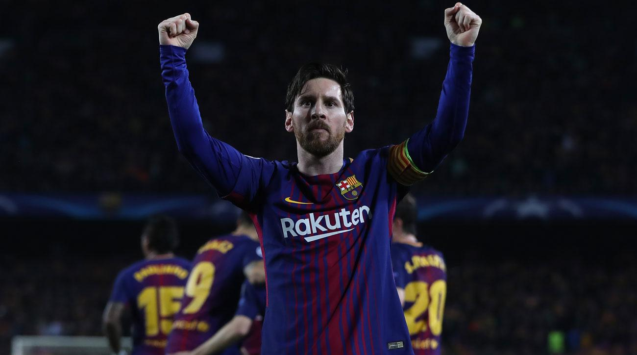 Lionel Messi leads Barcelona by Chelsea in the Champions League round of 16