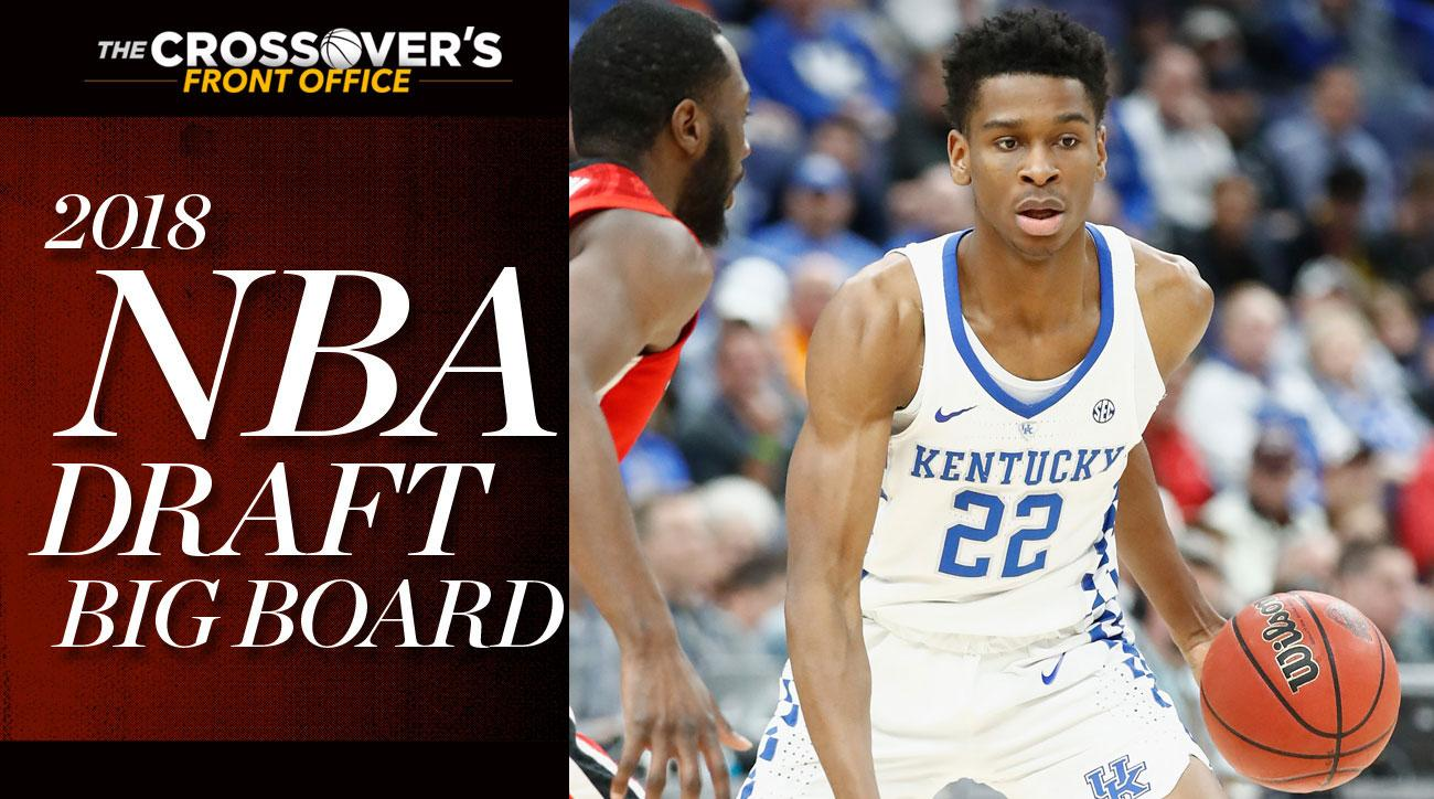 2018 NBA Draft Big Board 5.0  Top 80 Rankings as NCAA Tournament Marches On 50cea8248