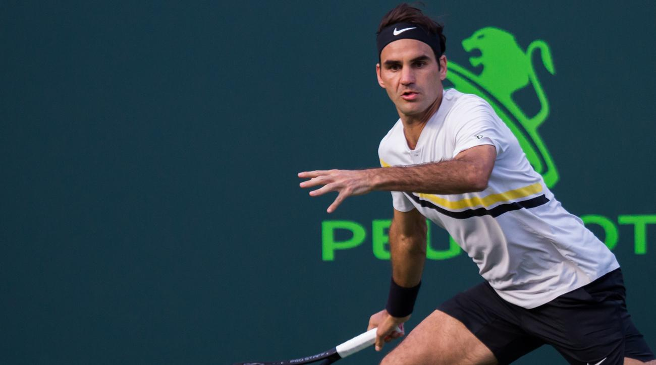 Australian qualifier Kokkinakis stuns Federer at Miami Open