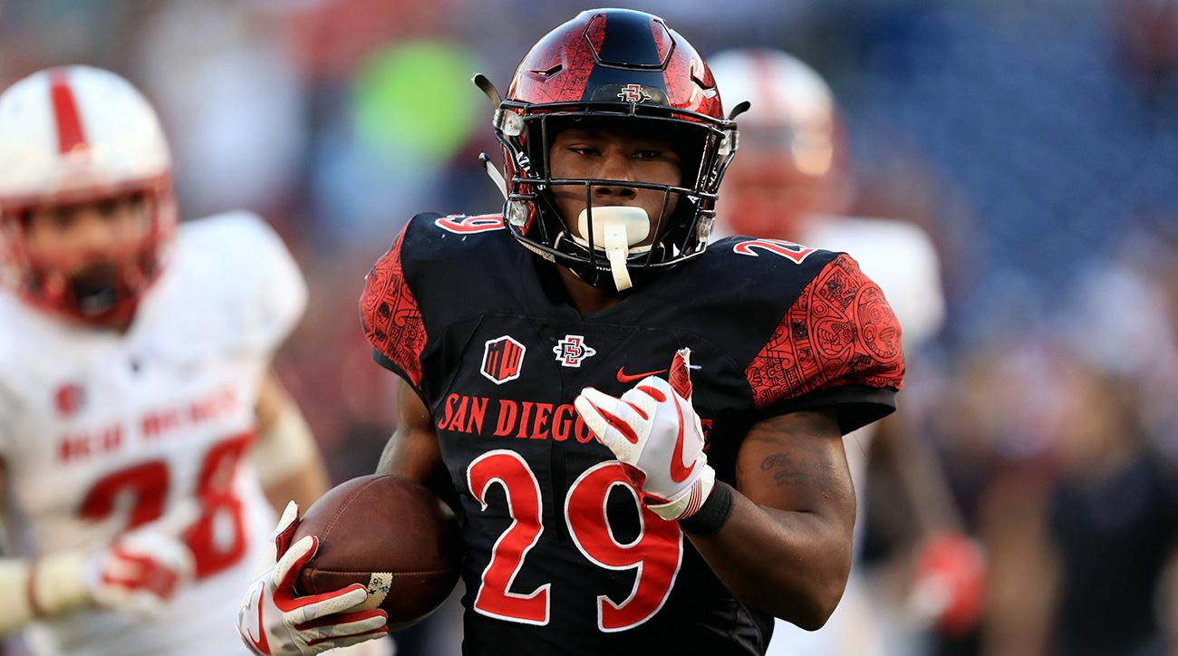 Juwan Washington, San Diego State try to replace Rashaad Penny