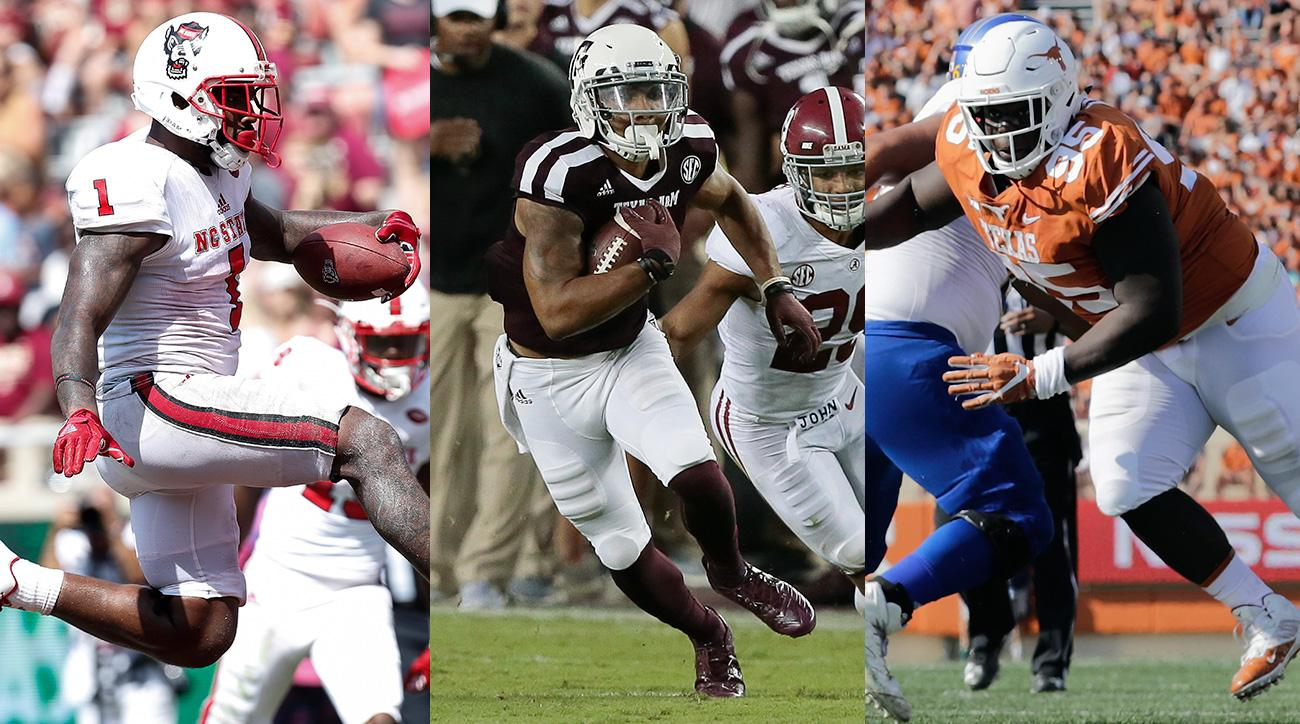 NFL draft 2018: Christian Kirk, Jaylen Samuels, Poona Ford and other sleepers
