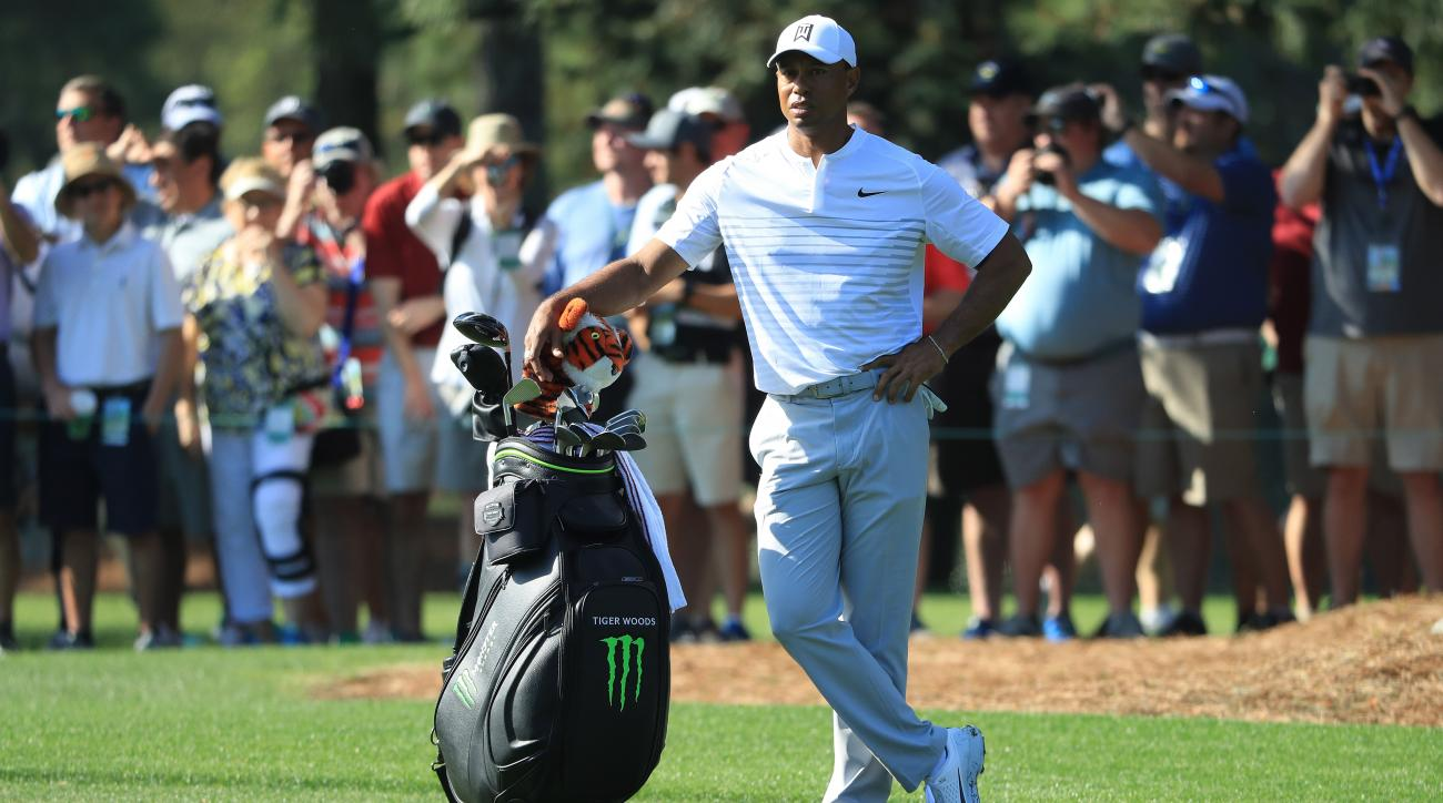 the masters  tiger woods brings comeback tour to augusta