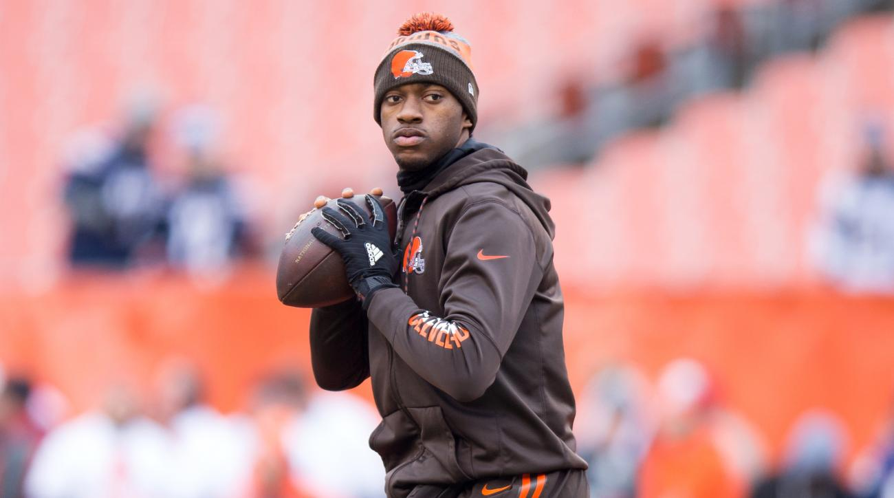 Robert Griffin III contract  Ravens sign RG3 for one year  3124a4f25