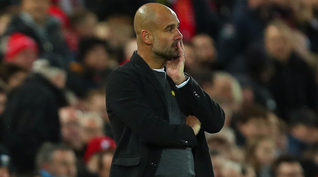 Liverpool leads Manchester City 3-0 after the first leg of the Champions League quarterfinals