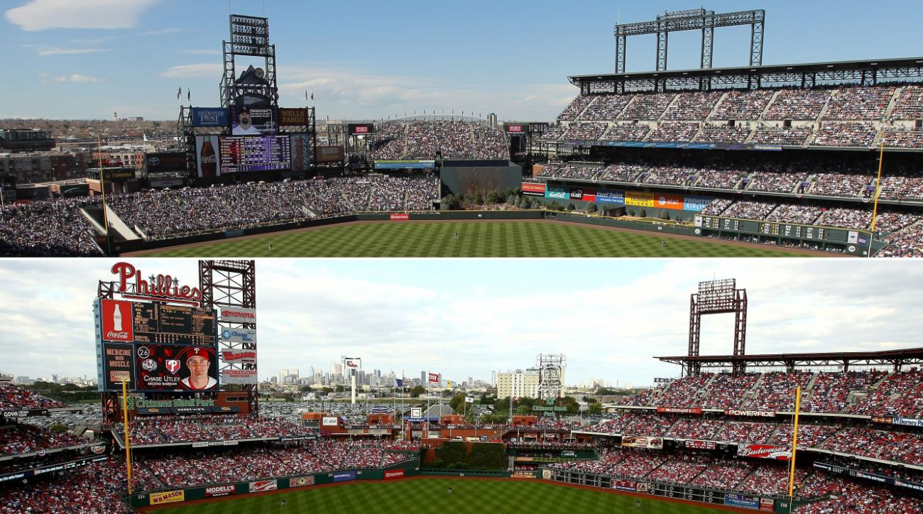 denver post mistakes coors field for citizens bank park si com