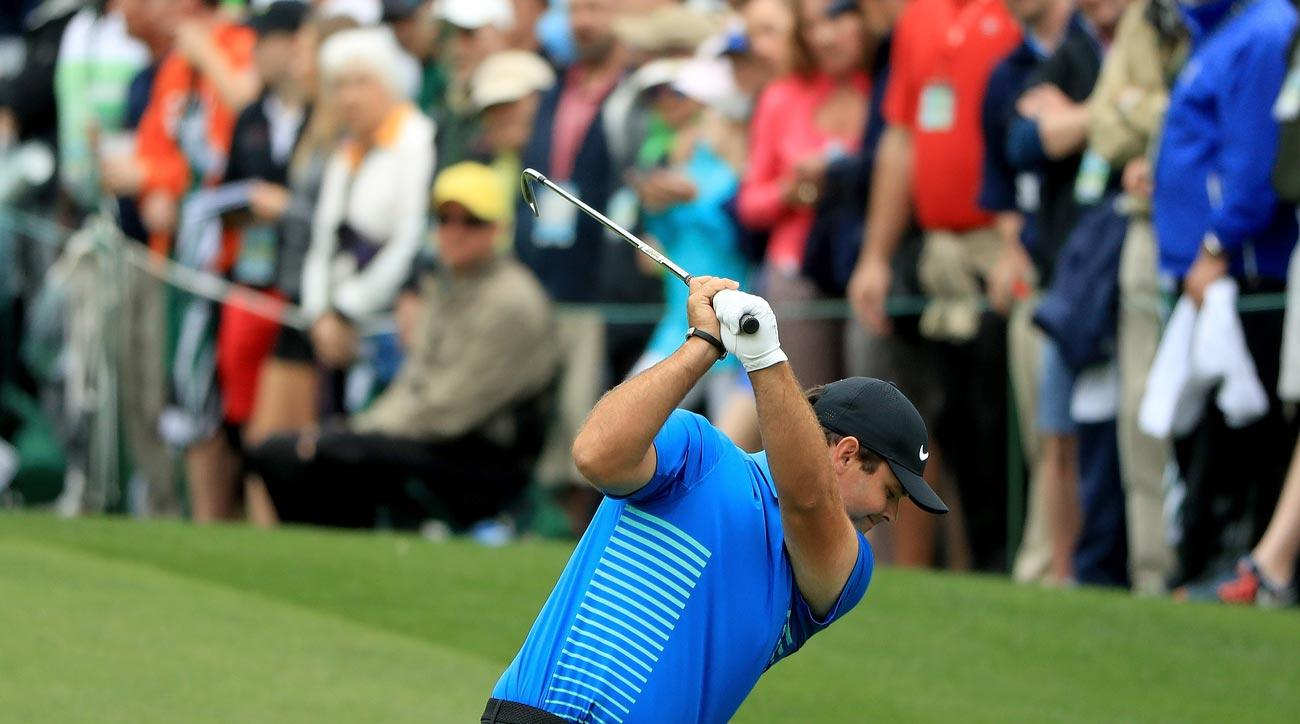 Patrick Reed during the third round of the 2018 Masters.